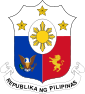 République des Philippines - Armoiries