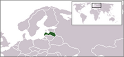 Republic of Latvia - Location