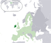 Ireland - Location