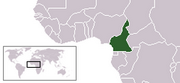 Republic of Cameroon - Location