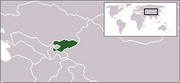 Kyrgyz Republic - Location