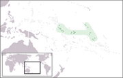 Republic of Kiribati - Location