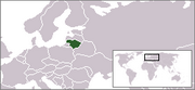 Republic of Lithuania - Location