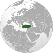 Republic of Turkey - Location
