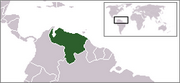 Bolivarian Republic of Venezuela - Location