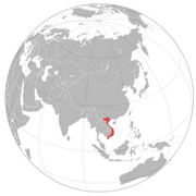 Socialist Republic of Vietnam - Location